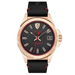 76705d7bb83 Relógio Scuderia Ferrari Masculino Couro Preto - 830462