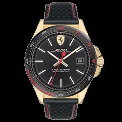 4afd74ed414 Relógio Scuderia Ferrari Masculino Couro Preto - 830490