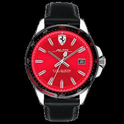 0049d985ab9 Relógio Scuderia Ferrari Masculino Couro Preto - 830489