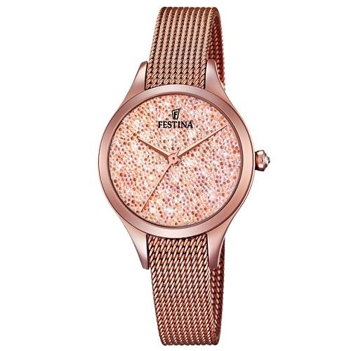 170e303525b Relógio Festina Feminino Aço Rosé - F20338 2