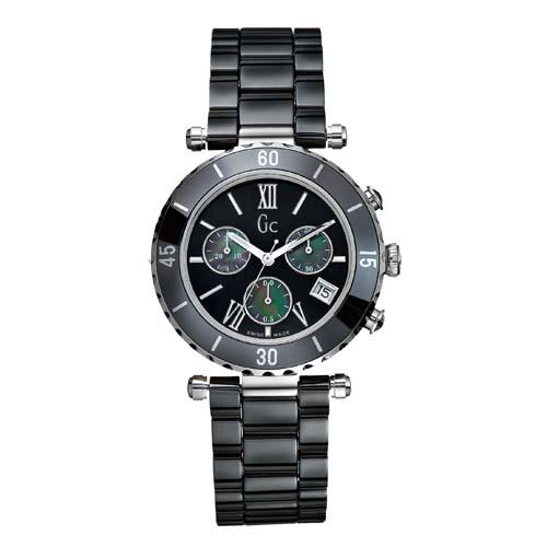 fc05a8d793f Relógio GC Feminino Cerâmica Preta - I43001M2