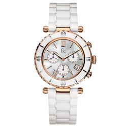 b9a06f1f46a Relógio GC Feminino Cerâmica Branca - I47504M1