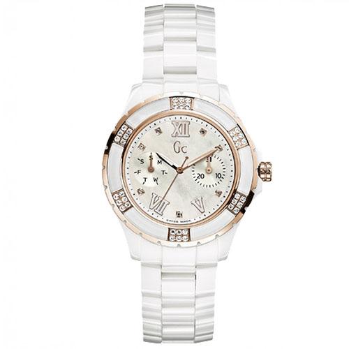 111c40eff4d Relógio GC Feminino Cerâmica Branca - X69110L1S