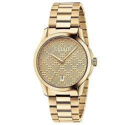 b5ae88987e4 Relógio Gucci Unissex Aço Dourado - YA126461