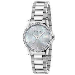 Relógio Gucci Feminino Aço - YA126543 663fbee659