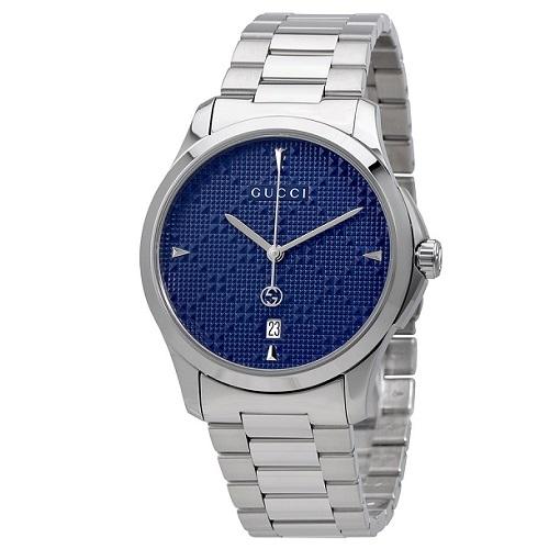 a370d33c484eb Relógio Gucci Unissex Aço - YA1264025