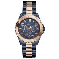 35942a36ee206 Relógio Guess Feminino Aço Azul - W0231L6