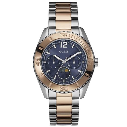 1a4240db4ed45 Relógio Guess Feminino Aço Prata e Rosé - W0565L3