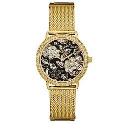f7491511f19 Relógio Guess Feminino Aço Dourado - W0822L2