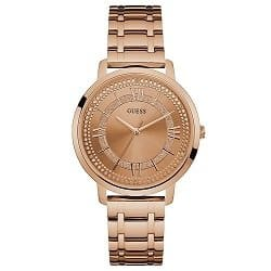 27cf89a7264f8 Relógio Guess Feminino Aço Rosé - W0933L3