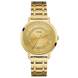 9a0296a1581ce Relógio Guess Feminino Aço Dourado - W0933L2