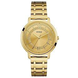e4f93d3bd465d Relógio Guess Feminino Aço Dourado - W0933L2