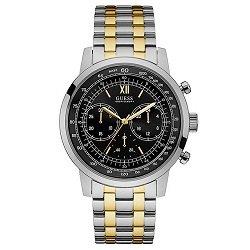 176074a2f72 Relógio Guess Masculino Aço Prateado e Dourado - W0915G2