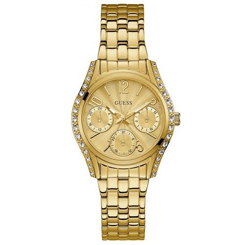 52657121b61 Relógio Guess Feminino Aço Dourado - W1020L2