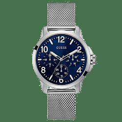 cec9d46956b Relógio Guess Masculino Aço - W1040G1