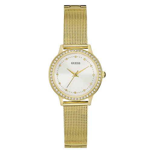141b84c1659 Relógio Guess Feminino Aço Dourado - W0647L7