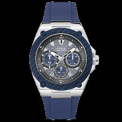 5b27e66604b Relógio Guess Masculino Borracha Azul - W1049G1