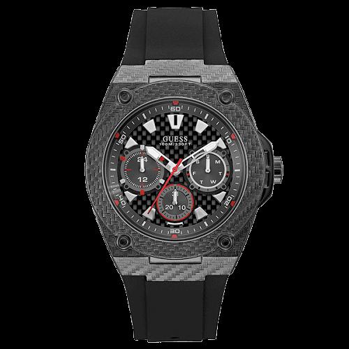 c1895a9b90003 Relógio Guess Masculino Borracha Preta - W1048G2