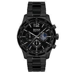 3b7d04782f7 Relógio Hugo Boss Masculino Aço Preto - 1513528