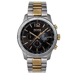 b2e21bffc68 Relógio Hugo Boss Masculino Aço Prateado e Dourado - 1513529