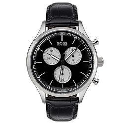 138696542e7 Relógio Hugo Boss Masculino Couro Preto - 1513543