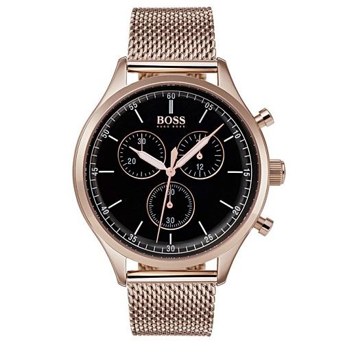 d9fdeccf842 Relógio Hugo Boss Masculino Aço Marrom - 1513548