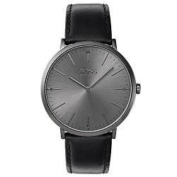 18e3452573f Relógio Hugo Boss Masculino Couro Preto - 1513540