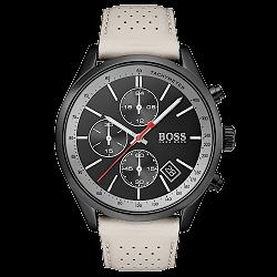 436d7b61d0f Relógio Hugo Boss Masculino Couro Bege - 1513562