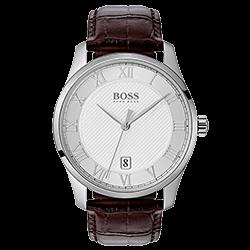 ac2ba54676a Relógio Hugo Boss Masculino Couro Marrom - 1513586
