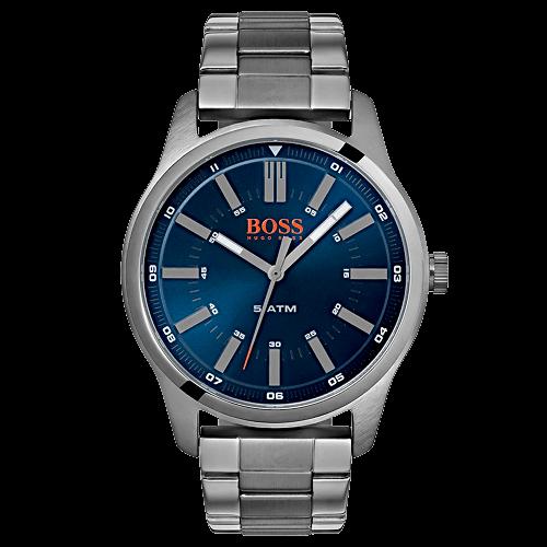 d9ce2bd1a50 Relógio Hugo Boss Masculino Aço Chumbo - 1550071