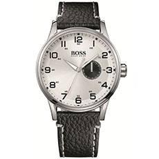 Relógio Hugo Boss Masculino Couro Preto - 1512722 d73d94974a