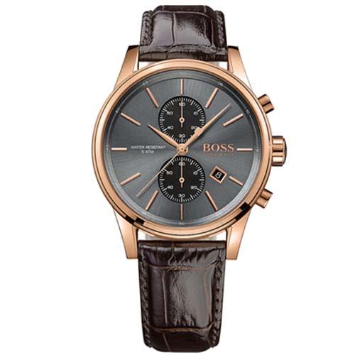 a109acdf408 Relógio Hugo Boss Masculino Couro Marrom - 1513281