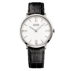 21f2e67fc0a Relógio Hugo Boss Masculino Couro Preto - 1513370