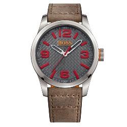 2b81356e3b5 Relógio Hugo Boss Masculino Couro Marrom - 1513351