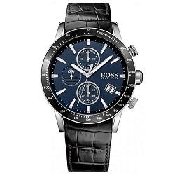 491dda637ef Relógio Hugo Boss Masculino Couro Preto - 1513391