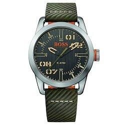 Relógio Hugo Boss Masculino Couro Verde - 1513415 6f93a70dc6
