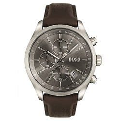 Relógio Hugo Boss Masculino Couro Marrom - 1513476 dcf0f4b0b6
