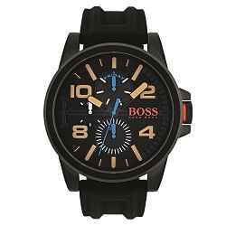 5193089dbcd Relógio Hugo Boss Masculino Borracha Preta - 1550011