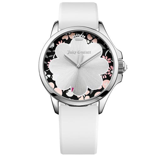 Relógio Juicy Couture Feminino Borracha Branca - 1901568