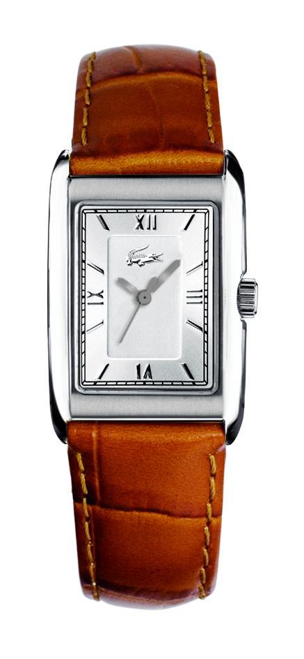 d249f267a97 Relógio Lacoste Masculino Couro Marrom - 2000343