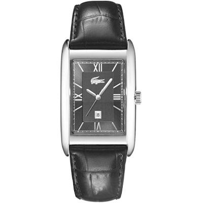 3e61ff8873c Relógio Lacoste Masculino Couro Preto - 2010359