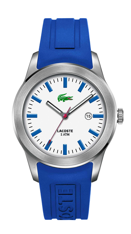 557cc25ce54 Relógio Lacoste Masculino Borracha Azul - 2010413