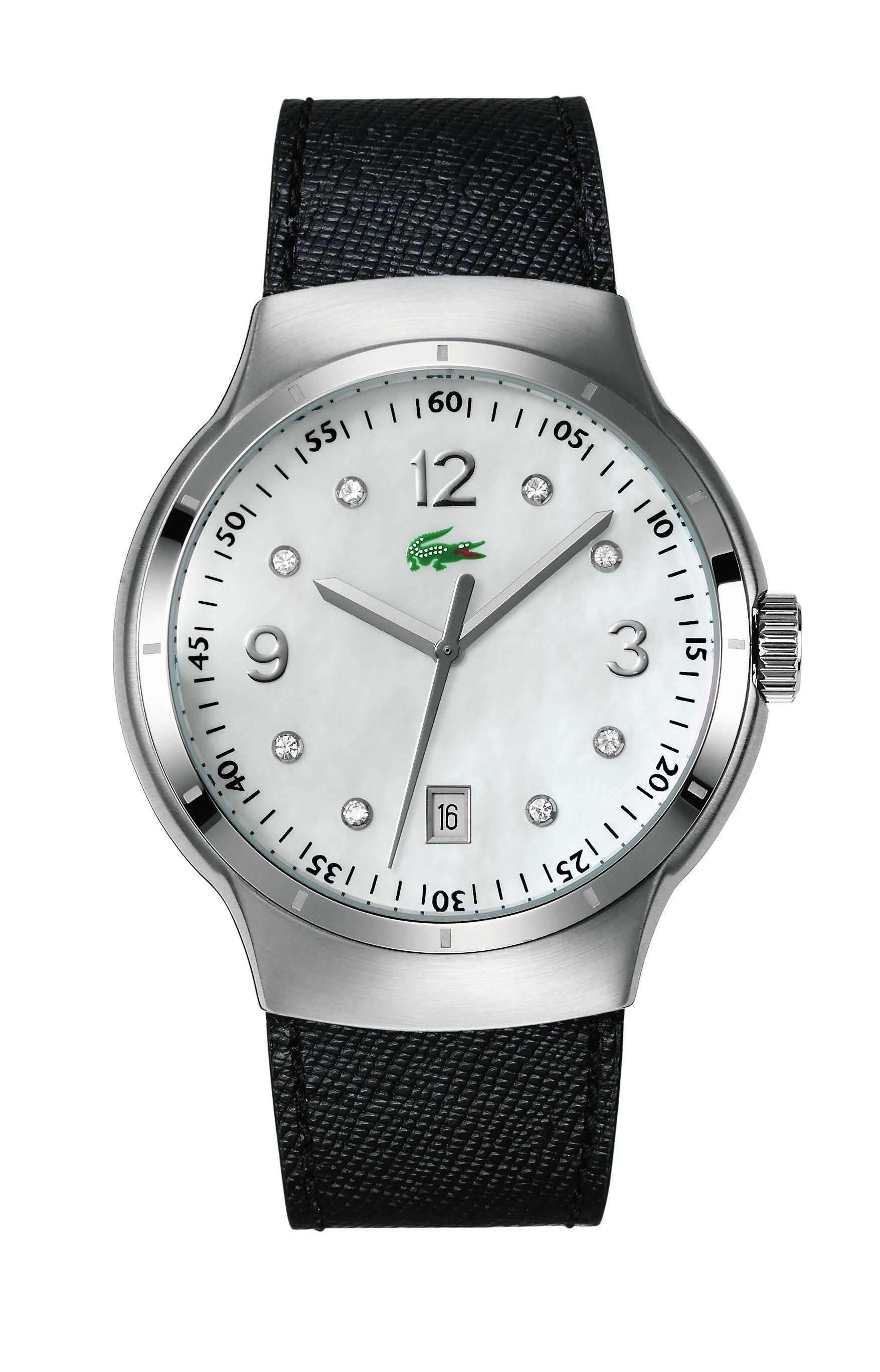 e1eed92a89a2b Relógio Lacoste Feminino Couro Branco - 2000374