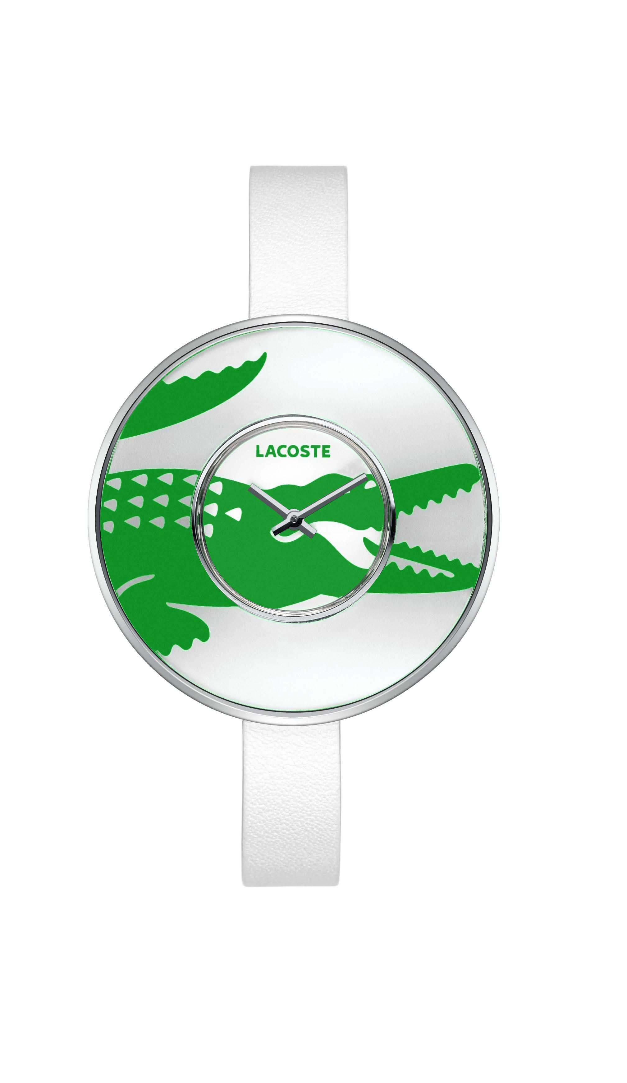 1daf7974de3 Relógio Lacoste Feminino Couro Branco - 2000544