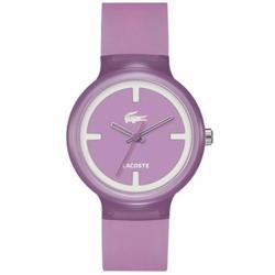 99ac184b880ad Relógio Lacoste Feminino Borracha Roxa - 2020026