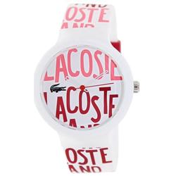 0d48ce37f44e0 Relógio Lacoste Feminino Borracha Branca - 2020053