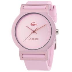 9443ade54d2 Relógio Lacoste Feminino Borracha Rosa - 2020076