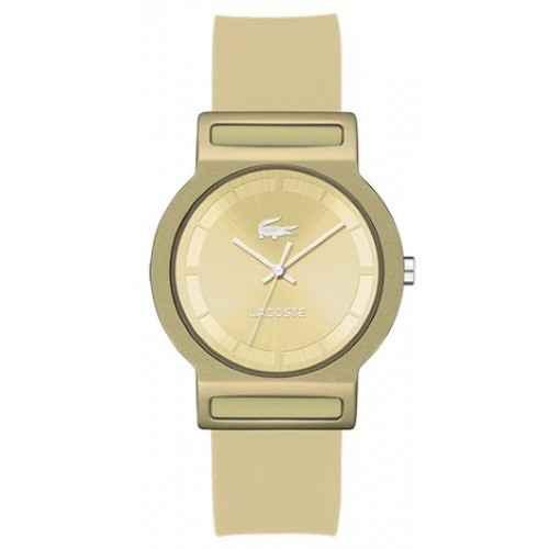 b3d77ed0523 Relógio Lacoste Masculino Resina Dourada - 2020082