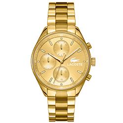 727f14840d123 Relógio Lacoste Feminino Aço Dourado - 2000866