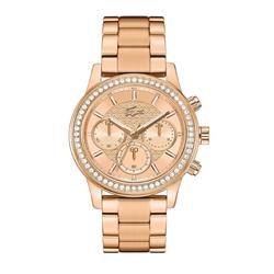 Relógio Lacoste Feminino Aço Dourado - 2000834 76f69c899b